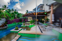 Heated Jacuzzi & Swimming Pool at Adult only Boutique Resort Port Douglas
