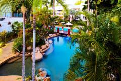 Heated Rock Pool - Alamanda Palm Cove Resort & Spa