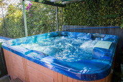 Heated Spa, Pool & Jacuzzi at Amaroo at Trinity Beach