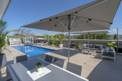 Heated Swimming Pool | Saltwater luxury apartments Port Douglas