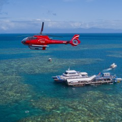Helicopter and Great Barrier Reef Combo package tour from Cairns