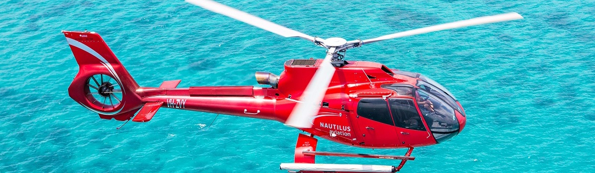 Helicopter Flights over the Great Barrier Reef and Rainforests in Cairns and Port Douglas