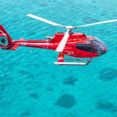 Helicopter Flights over the Great Barrier Reef