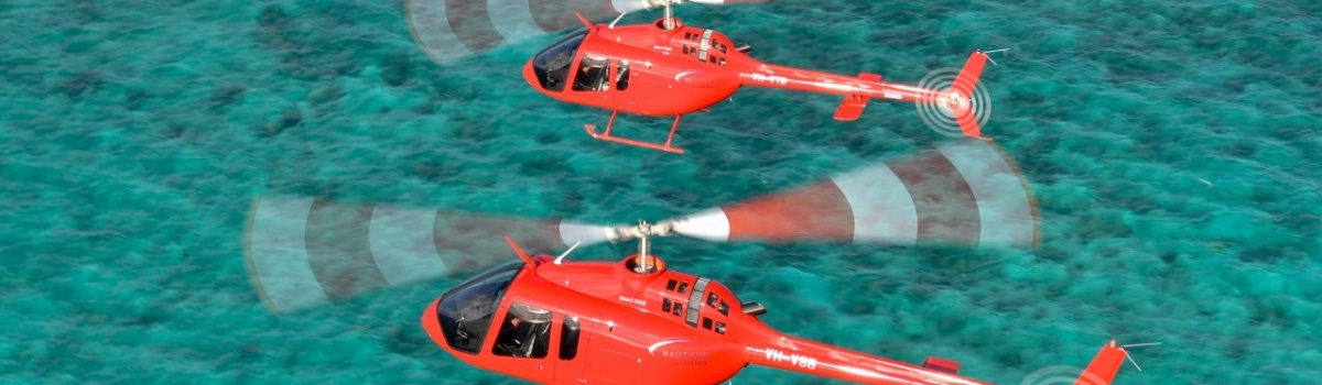 Helicopter Flights Port Douglas - Exclusive Sand Cay