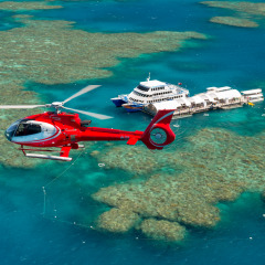 Helicopter Scenic Flight from Great Barrier Reef Pontoon