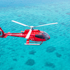 Helicopter Scenic Flight on Great Barrier Reef Cruise