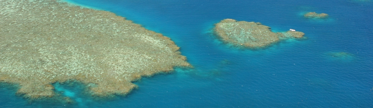 Helicopter scenic flights over the Great Barrier Reef, Rainforests and Outback Queensland Australia