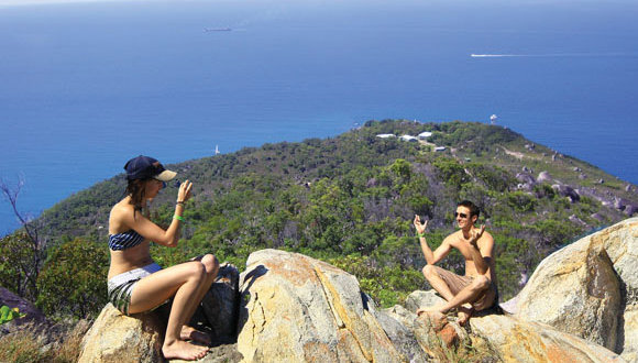 Hike & Climb the granite boulders on Fitzroy Island on the Great Barrier Reef in Australia