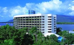 Hilton Hotel Cairns located on the Waterfront