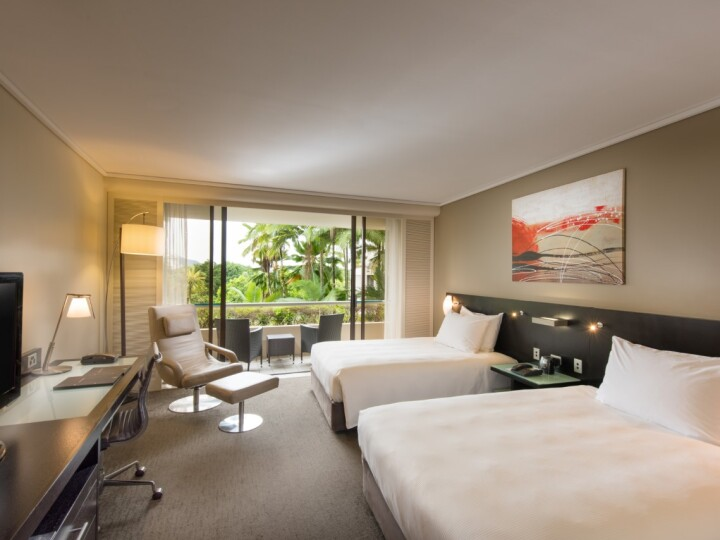 Hilton Guest Room with City/Mountain Views | Hilton Hotel Cairns