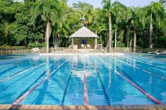 Holidaying In Port Douglas Tropical North Queensland With Fit Teenagers | Lap Pool At Rendezvous Reef Resort