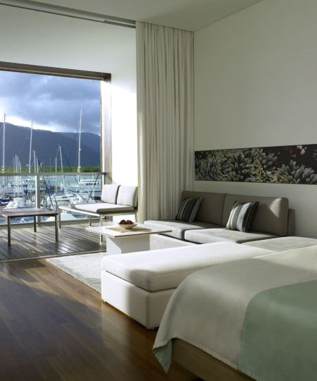 Horizon Club Room with Marina Views - ShangriLa Cairns Luxury Hotel Accommodation