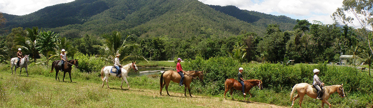 Horse Riding Tours from Cairns on an Australian farm