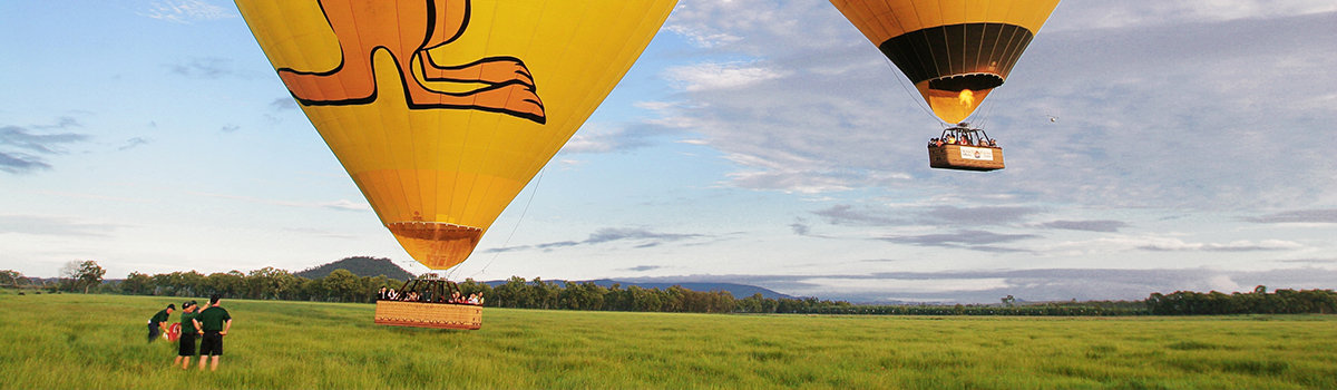 Hot Air Balloon tours Cairns & Port Douglas Queensland Australia