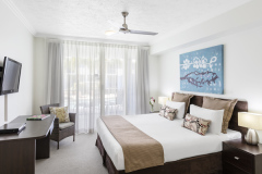 Hotel style room at Sikari Lagoons Port Douglas - enjoy Spa or Swimout options