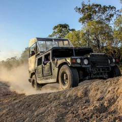 Hummer Four Wheel Drive Vehicle | Cairns Night Tour