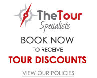 The Tour Specialists Book Now to Receive Tour Discounts