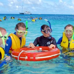Part Your Full Day Reef Trip | Snorkel Safety Instructions At Michaelmas Cay | Great Barrier Reef Cairns