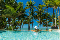 Infinity Pool at the Alamanda Day Spa - Alamanda Palm Cove Resort & Spa