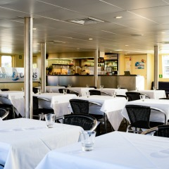 Inside seating | Cairns Only Lunch & Dinner Cruise