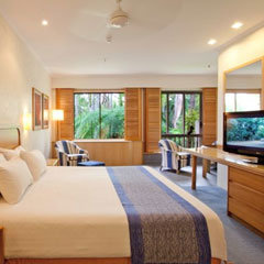 Internal view of Port Douglas Resort Rooms at Sheraton Mirage