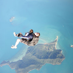 Island Views for your Skydive in Cairns