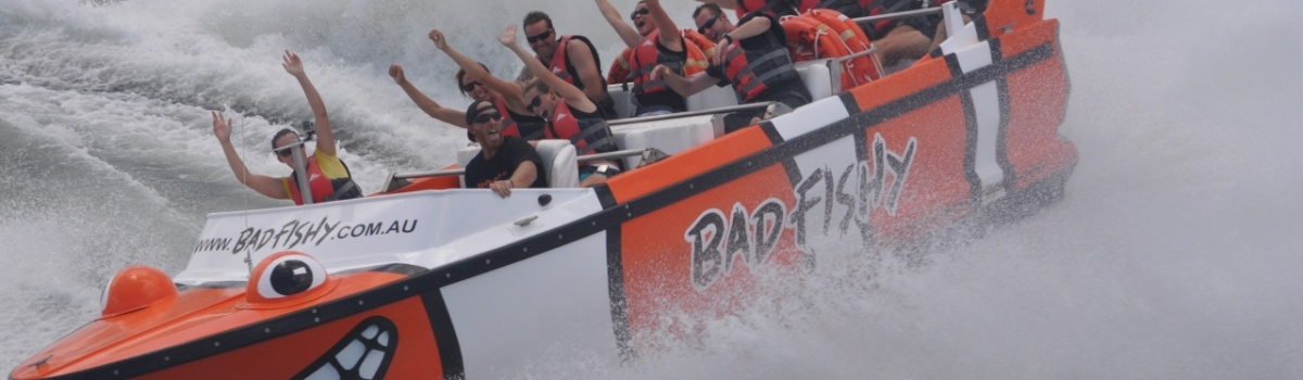 Jet Boat adreanline tours in Cairns Queensland Australia