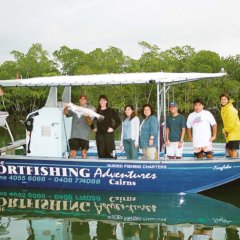 Join us for a half day fishing tour in Cairns
