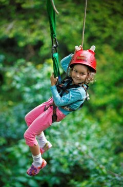 Jungle Surfing Or Zip-lining Through The Daintree Rainforest | Great Activity For Children Whilst Holidaying In Port Douglas Tropical North Queensland