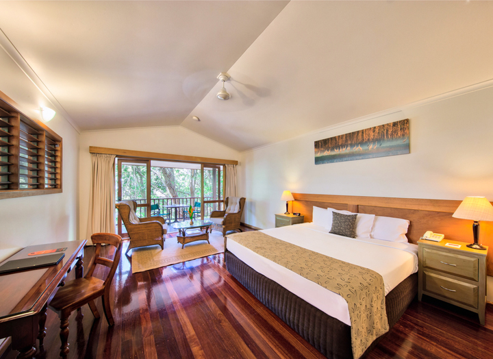 Port Douglas Eco Resort - Jungle Walk Bungalow | Deluxe Eco Resort with Beach & Rainforest Setting, Port Douglas