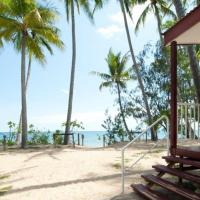 Just steps away from the Beach - Cairns' Beaches Beachfront Accommodation offers comfortable cabin style accommodation.