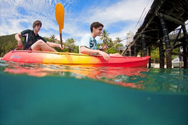 Optional Activities such as Kayak at Fitzroy Island Resort