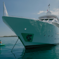Superyacht toys are included on your Great Barrier Reef charter