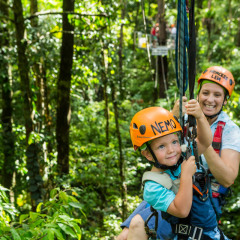 Kids Love Ziplining - - Daintree Cape Tribulation Ziplining Tour
