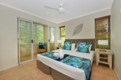 King or Twin Bedrooms available at Cayman Villas Port Douglas