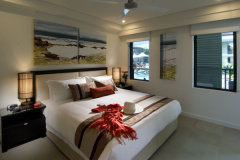 King Size Master Bedroom - Sea Temple Resort & Spa Port Douglas