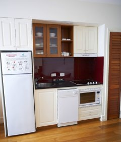 Kitchen Facilities in the Apartment style accommodation - Mantra on the Inlet Port Douglas