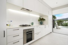 Kitchen in 2 Bedroom Apartment at Pool Resort Port Douglas