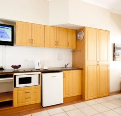 Kitchenette Facilities at Regal Holiday Apartments Port Douglas