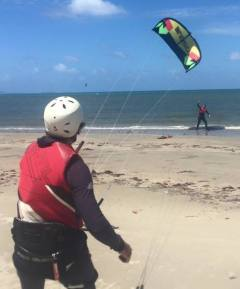 Kite Surfing From Four Mile Beach In Port Douglas North Queensland | Adventurous Activity For Teenagers