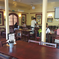 Kuranda Hotel Indoor Dining Area