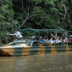Kuranda Rainforest Army Duck Tour | Family Fun Day | Departs Cairns Daily | Includes Return Coach Transfers