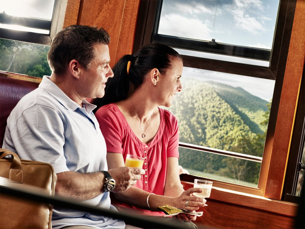 how to travel by train