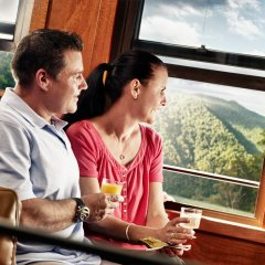 Kuranda Train and Scenic Rail Gold Class Carriages