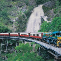 Kuranda Scenic Train | Enjoy Stunning Views On Your Way up to Kuranda | Full Day Trip Departing From Cairns Tropical North Queensland