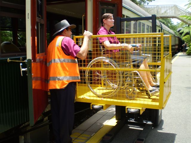 Kuranda Scenic Train Freshwater Station Wheelchair Access