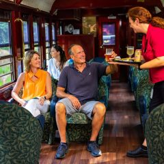 Kuranda Scenic train Gold Class