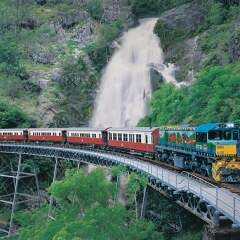 Kuranda Tours - Kuranda Train - Stoney Creek Falls
