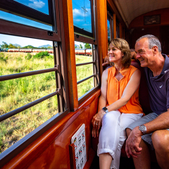 Kuranda Tours - Kuranda Train Couple