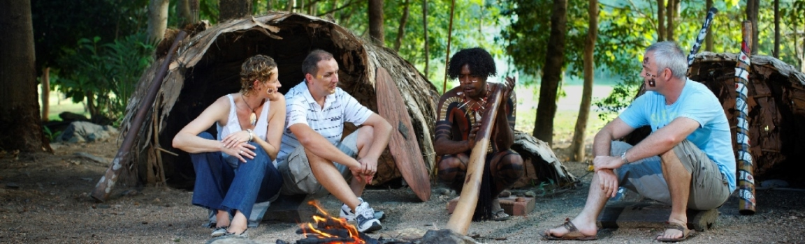 Learning about Aboriginal Culture on Kuranda Village Tour